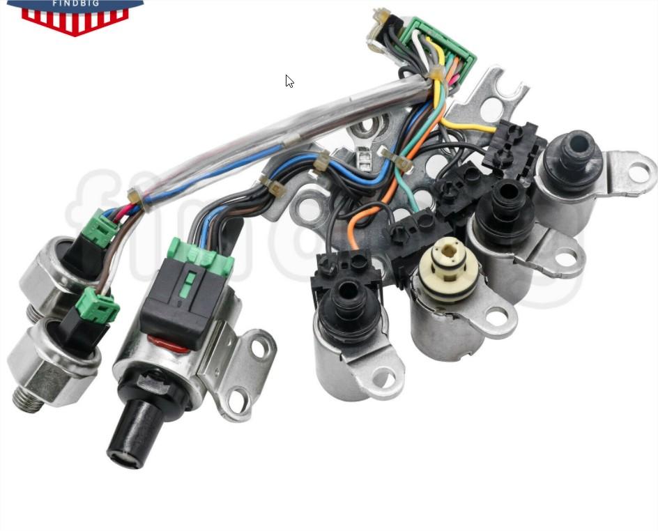 Manutencao Cambio Troca eletrovalvulas Kit10