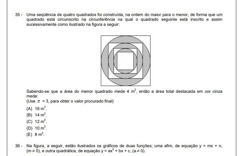 Circulo inscrito no quadrado 31546210