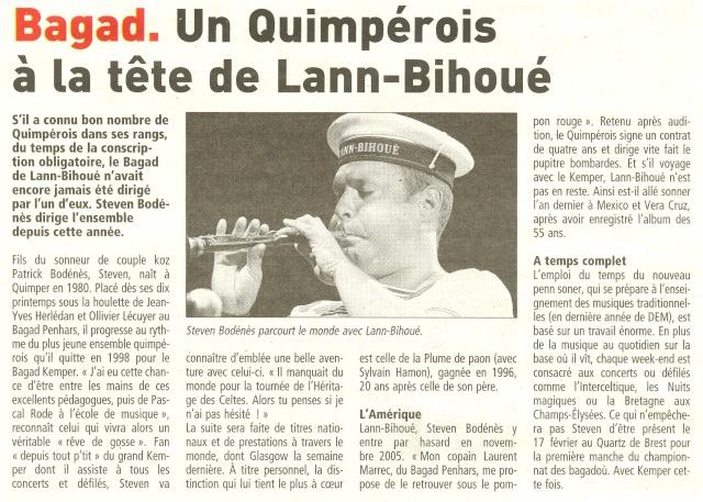 [La musique dans la Marine] Bagad de Lann-Bihoué - Page 5 Numeri15