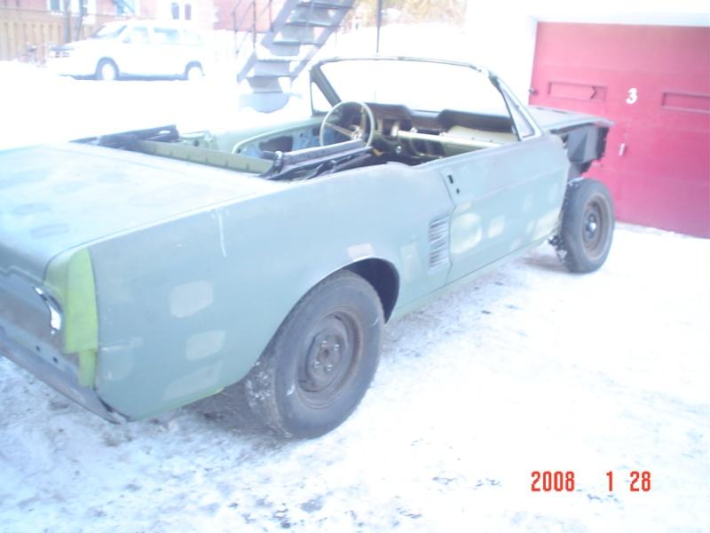 Ma Mustang 1967, 200ci Ok210