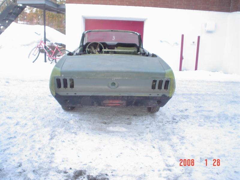 Ma Mustang 1967, 200ci Ok310