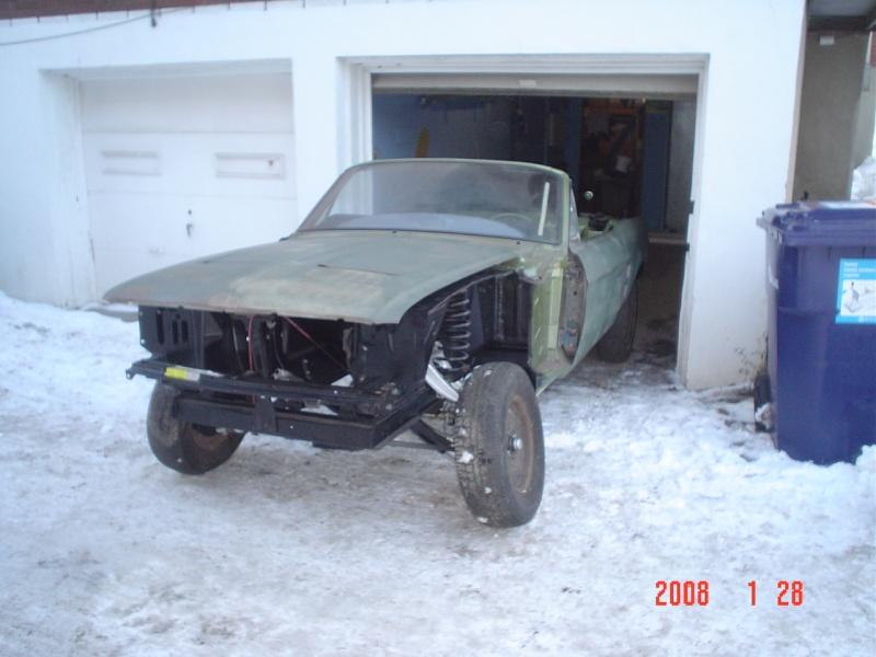 Ma Mustang 1967, 200ci Ok410
