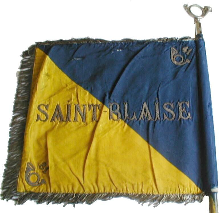 1° Bataillon de Chasseurs à Pied - Sainte-Blaise Fanion14