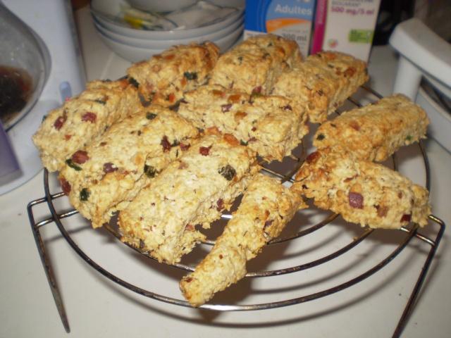Barres de céréales pour le goûter avec photo P2060011