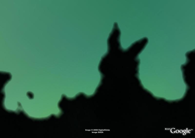Animaux en liberté vus du ciel - Page 4 Lapin10