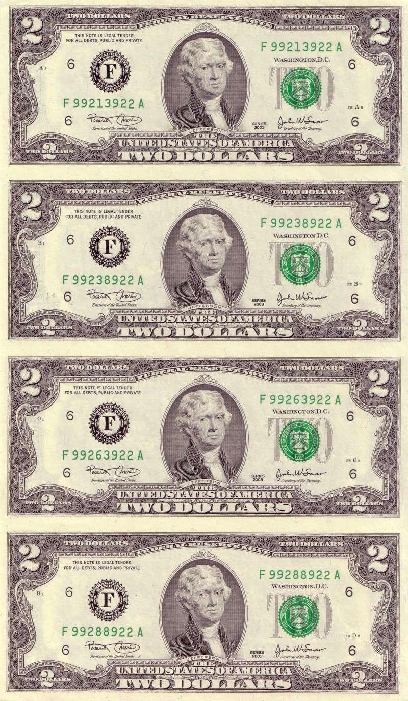 4 billetes de 2 dólares sín cortar 2_dola10