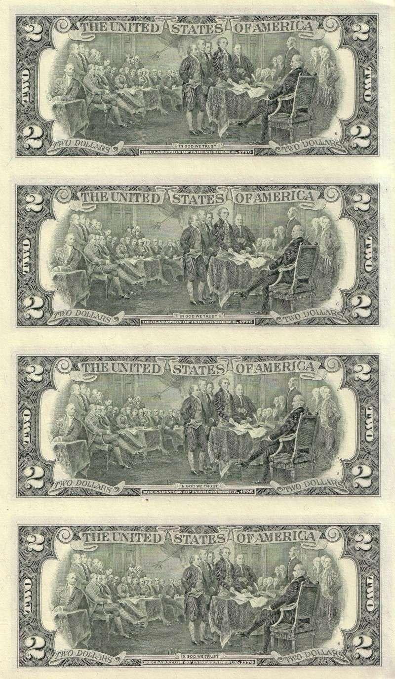 4 billetes de 2 dólares sín cortar 2_dola11