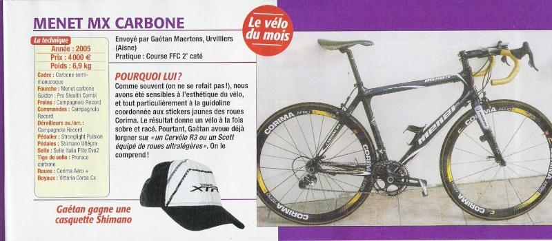 Cycles MENET Menet11