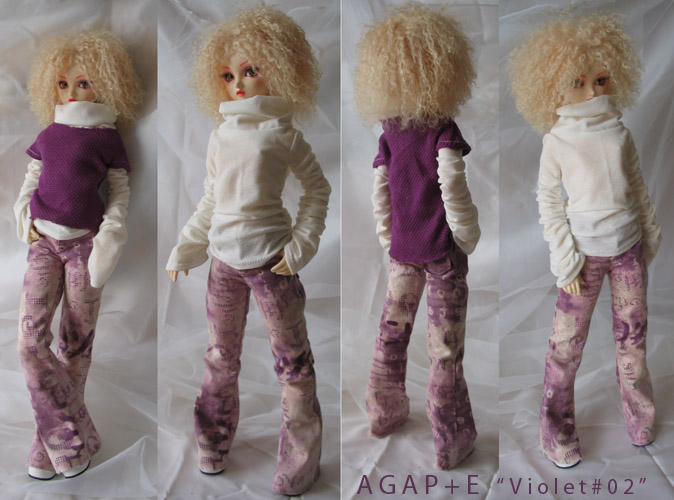 [AGAP+E] Robe sirène pour Monster high (p.10) 06/07 - Page 2 Violet10