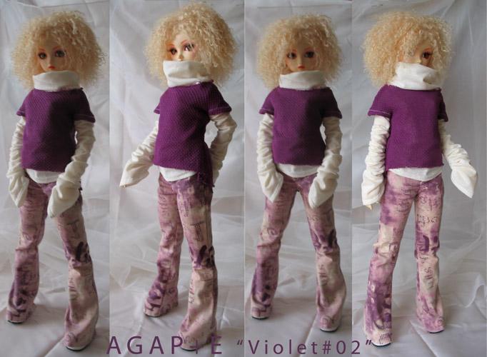 [AGAP+E] Robe sirène pour Monster high (p.10) 06/07 - Page 2 Violet11