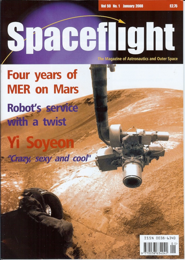 Revues : Spaceflight 50 / January 2008 01-03-10