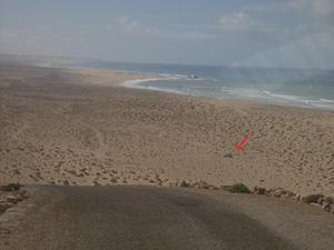 La plage de Boujdour Boujdo12