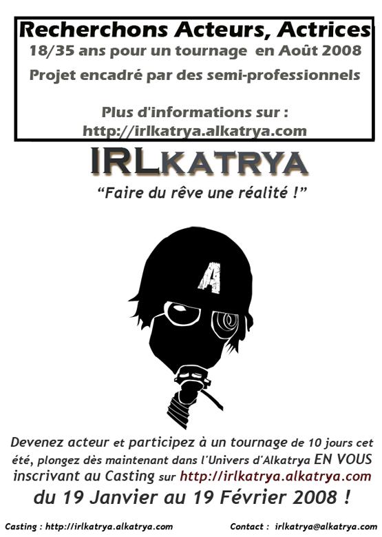 IRLkatrya : tournez dans un moyen-métrage post-apo Affich10