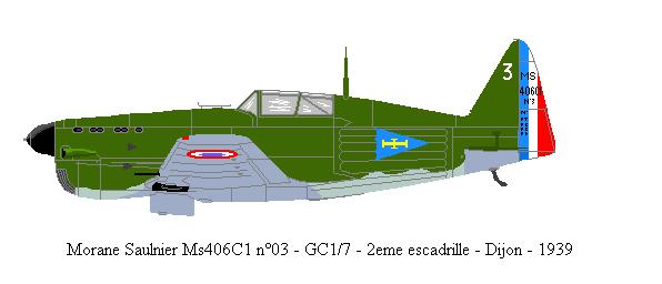 Morane Saulnier Ms406/410 Ms406-10