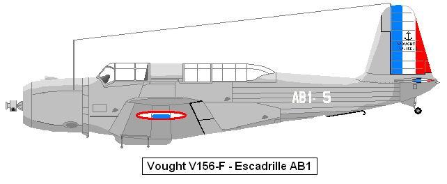 Vought V156 aéronavale Vindic11