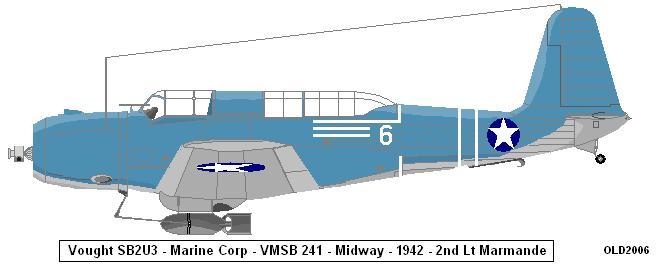 Vought V156 aéronavale Vmsb2410