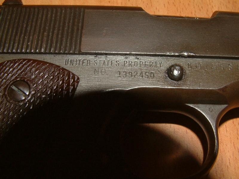 Colt .45 , modèle 1911 et 1911A1 Dscf1115