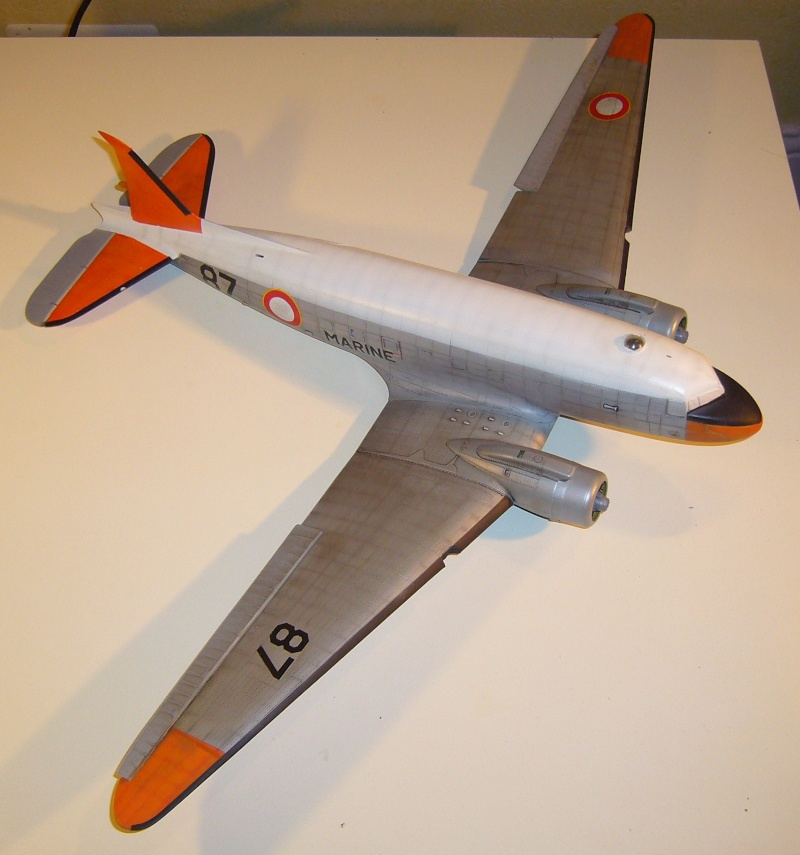 C 47 D Dakota, Aéronautique Navale Française. Trumpetter 1/48 P1010610