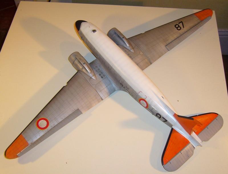 C 47 D Dakota, Aéronautique Navale Française. Trumpetter 1/48 P1010612