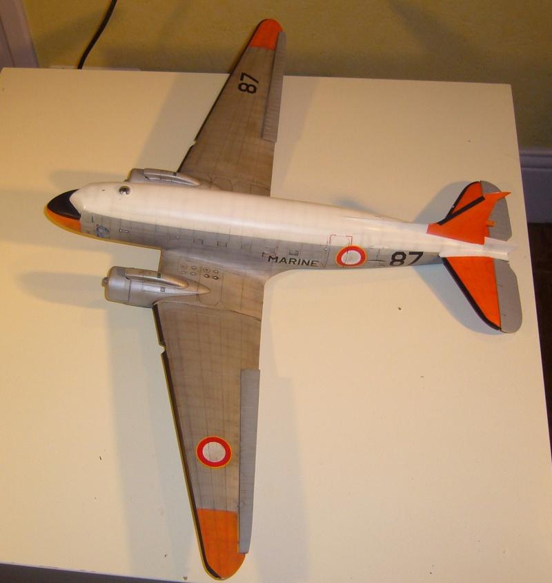 C 47 D Dakota, Aéronautique Navale Française. Trumpetter 1/48 P1010613