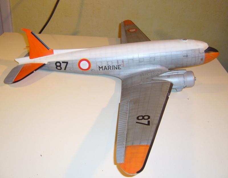 C 47 D Dakota, Aéronautique Navale Française. Trumpetter 1/48 P1010615