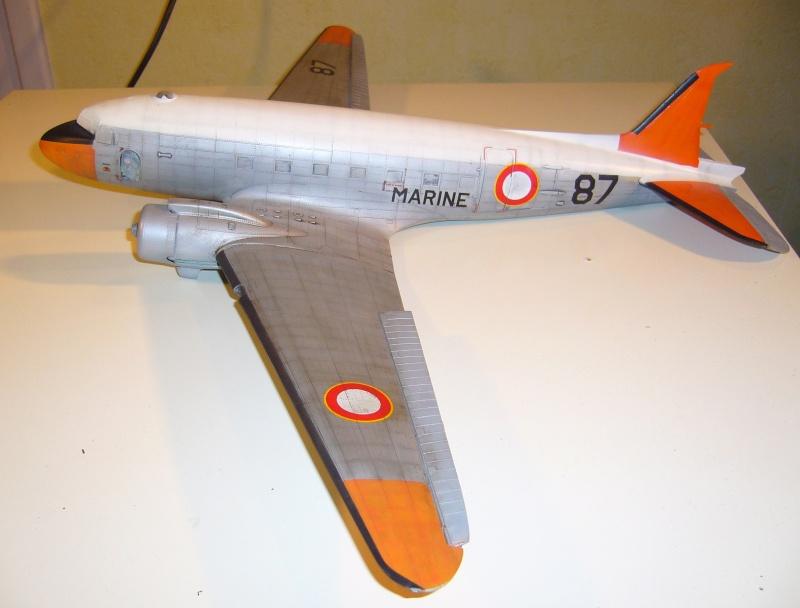 C 47 D Dakota, Aéronautique Navale Française. Trumpetter 1/48 P1010616