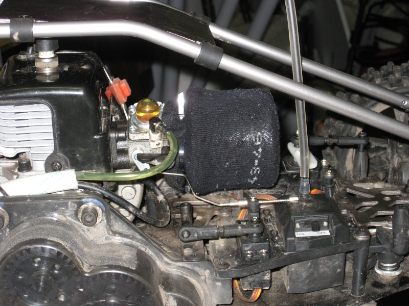 Protection amortisseurs et préfiltre à air Img_0315