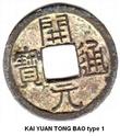 La determination du KAI YUAN TONG BAO a travers les dynastie Kai_yu10