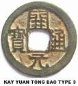 La determination du KAI YUAN TONG BAO a travers les dynastie Kai_yu12