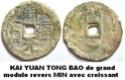 La determination du KAI YUAN TONG BAO a travers les dynastie Kai_yu15