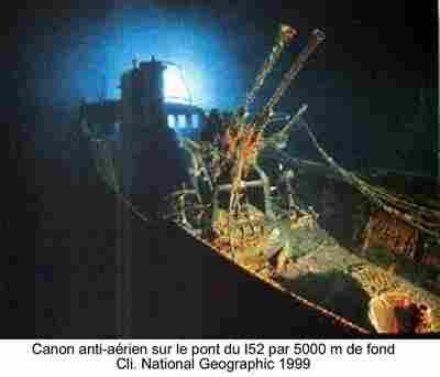 Les sous marins Japonais en Bretagne! Canons10