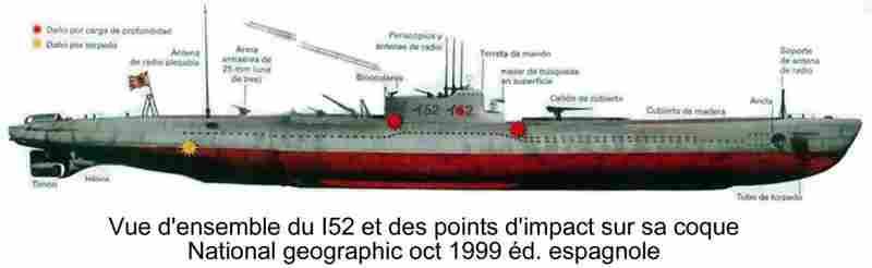 Les sous marins Japonais en Bretagne! Impact10