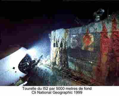 Les sous marins Japonais en Bretagne! Tourel11
