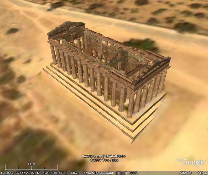 Batiments 3D avec textures - MONDE [Sketchup] Temple10