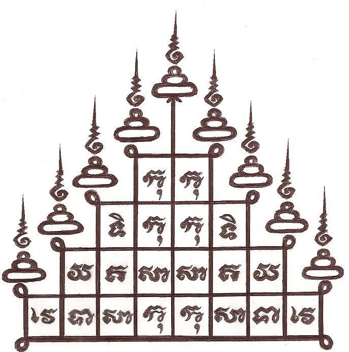 Le Krou (guérisseur) au Cambodge Pi10