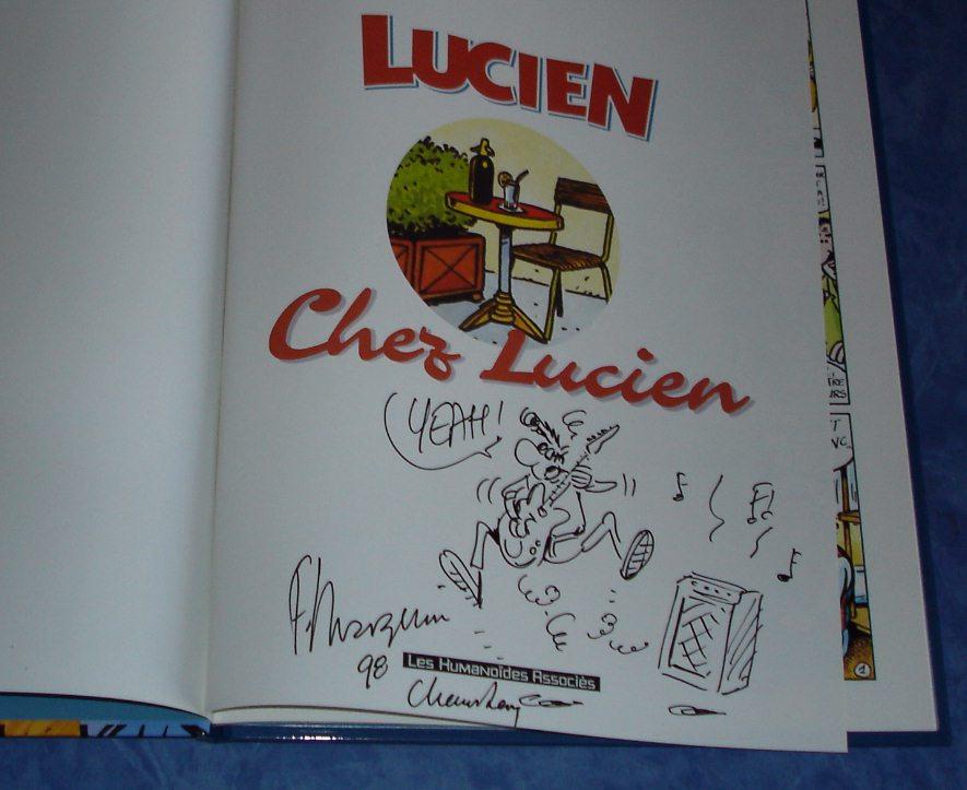 Mes Bd dédicacées Lucien10