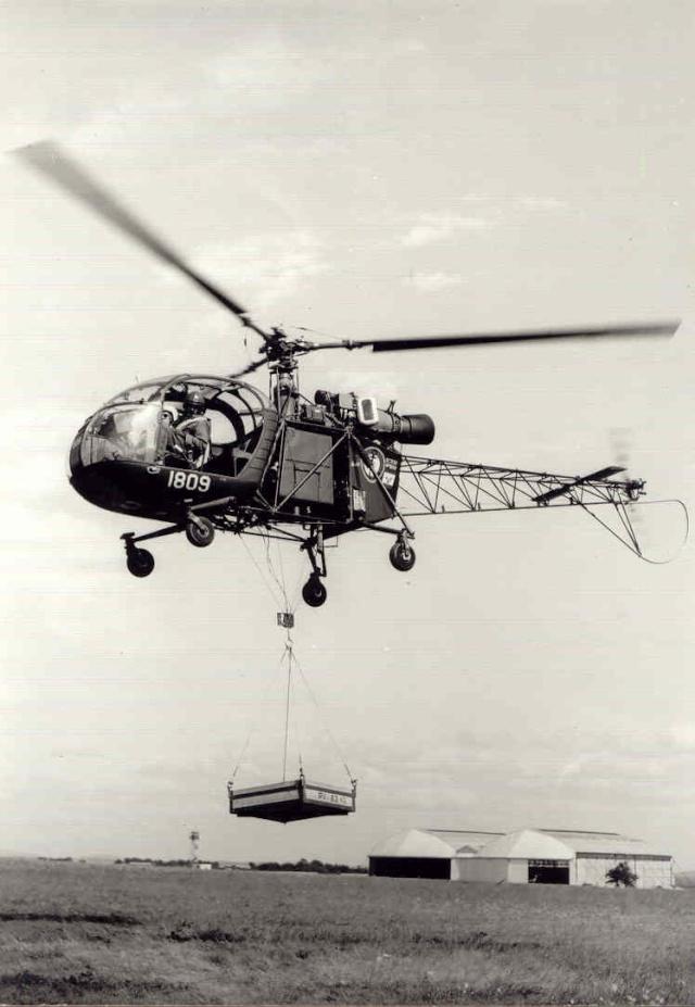 [Aéronavale divers] Hélicoptére ALOUETTE 2 - Page 2 Alouet10