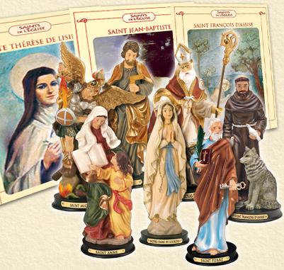 Statuettes des Saints à acheter. Accuei10