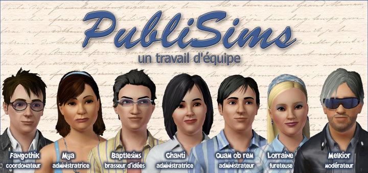 L'équipe de PubliSims Equipe10