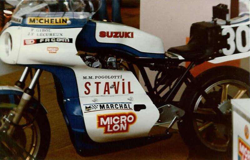 Une belle SUZUKI du Bol d'Or Suzuki10