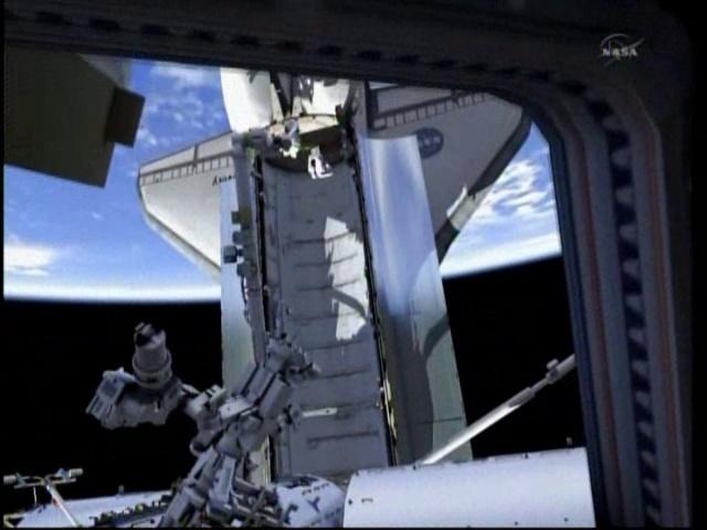 ISS en image de Synthèse - logiciels de la Nasa Vlcsna12