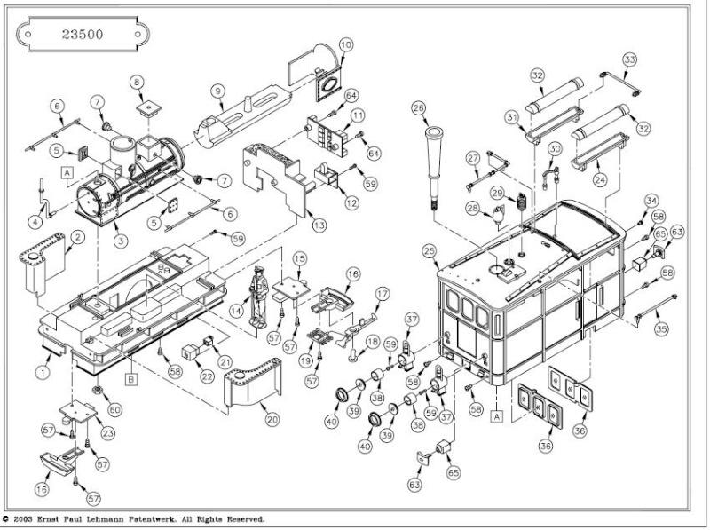 Instal·lació aparell de FUM en una LGB 2050/23500 ELIES 120