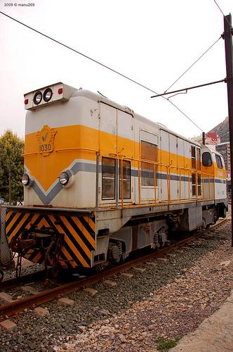 Locomotores diesel Alsthom de FFCC Catalans en IIm (FFCC de la Terrassa) A18