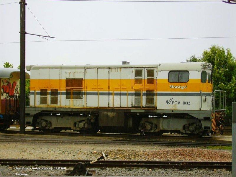 Locomotores diesel Alsthom de FFCC Catalans en IIm (FFCC de la Terrassa) A_119