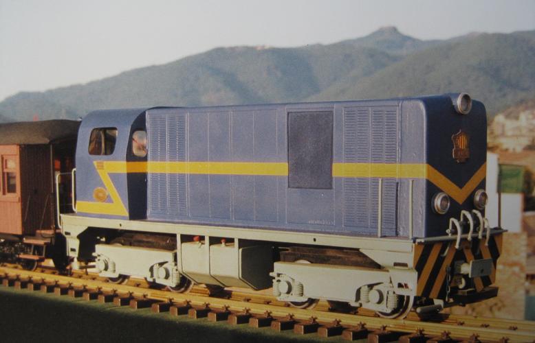 Locomotores diesel Alsthom de FFCC Catalans en IIm (FFCC de la Terrassa) A_1414