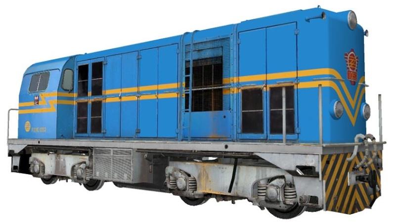Locomotores diesel Alsthom de FFCC Catalans en IIm (FFCC de la Terrassa) A_418