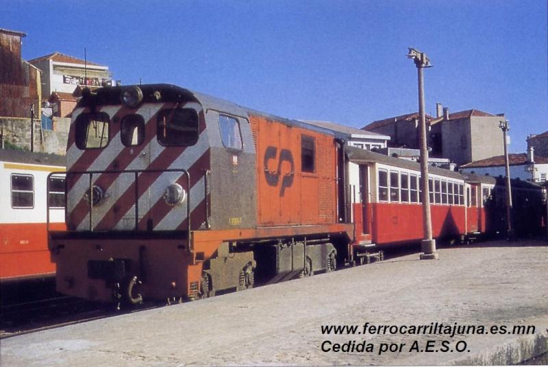Locomotores diesel Alsthom de FFCC Catalans en IIm (FFCC de la Terrassa) A_617