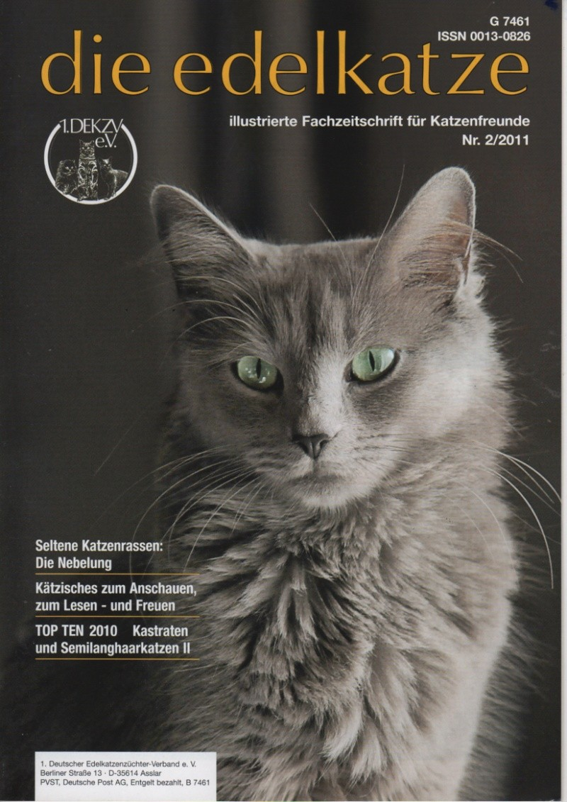 """German publication """"die-edelkatze """" Die-ed10"""