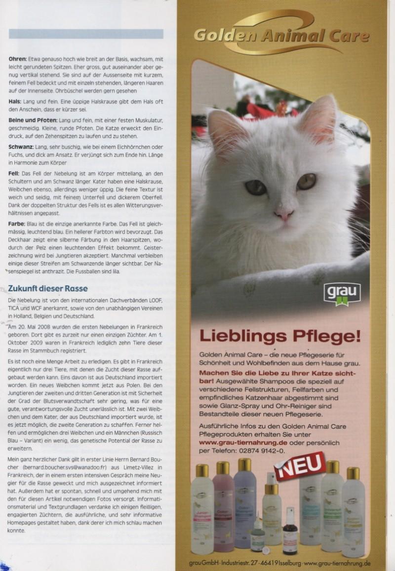 """German publication """"die-edelkatze """" Die-ed15"""