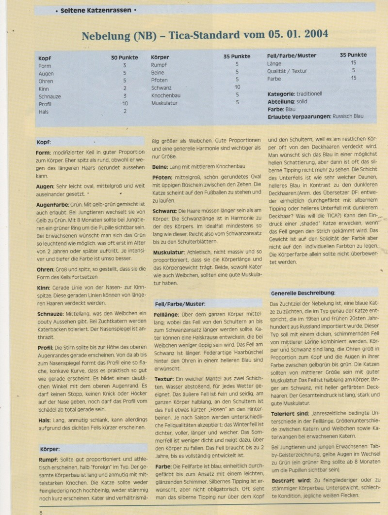 """German publication """"die-edelkatze """" Die-ed16"""